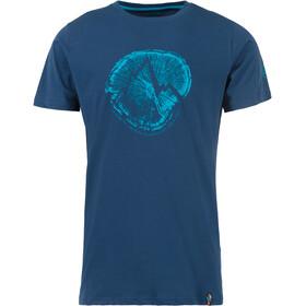 La Sportiva Cross Section - T-shirt manches courtes Homme - bleu